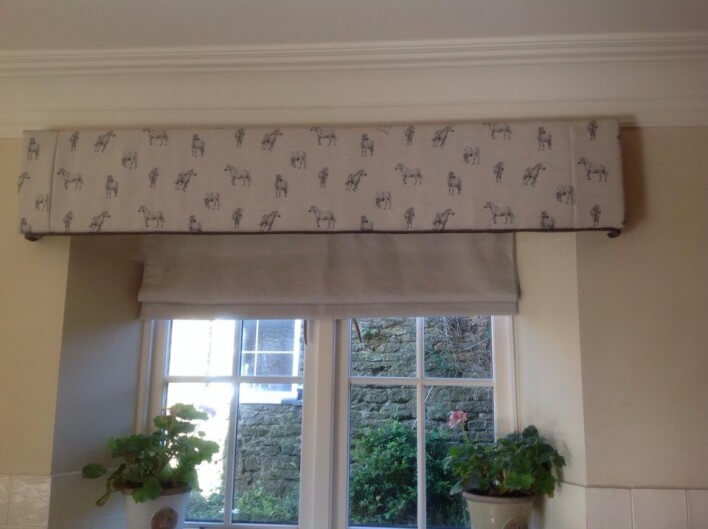 roman blinds and pelmets for sale